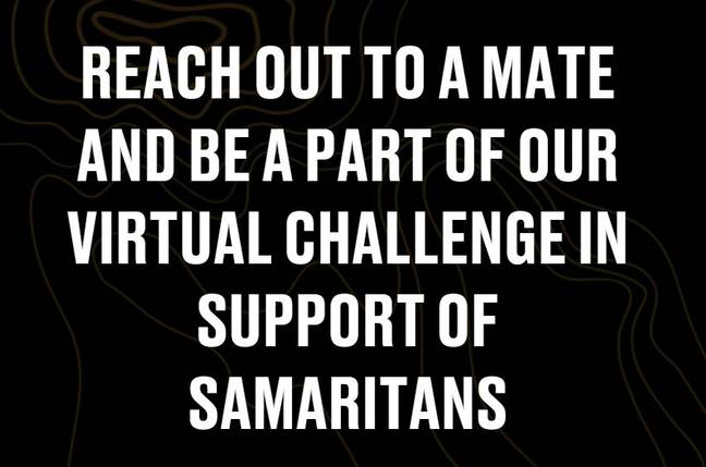 Sign up to the virtual challenge today. Credit: LADbible