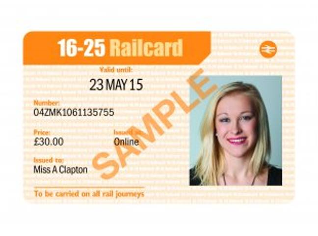 Get A 16-25 Railcard For Half Price. Credit: Railcard