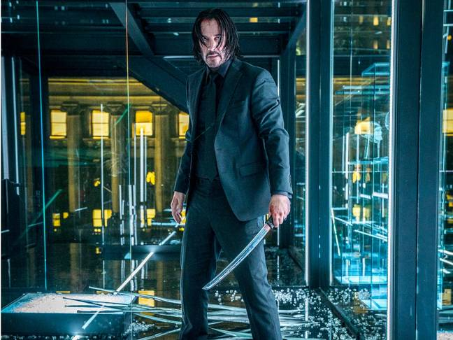 John Wick has been voted Keanu Reeves' best film franchise. Credit: Lionsgate