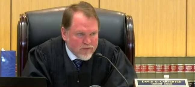 Judge David Carpenter re-sentenced Kennard. Credit: FOX/WBRC