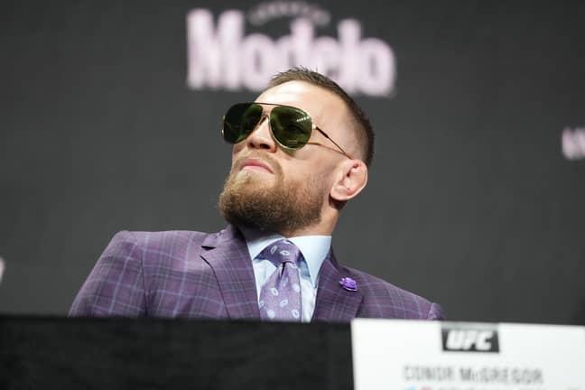 McGregor. Credit: PA