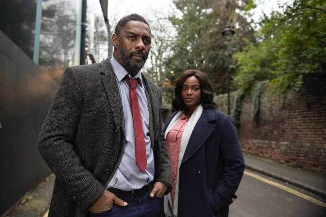 Luther is on the verge of being made into a film, according to Idris Elba. Credit: BBC