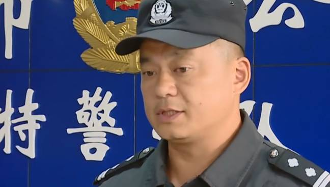 Captain Zeng Hao has been commended for his actions. Credit: AsiaWire