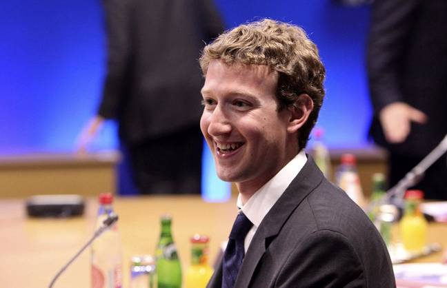Mark Zuckerberg. Credit: PA