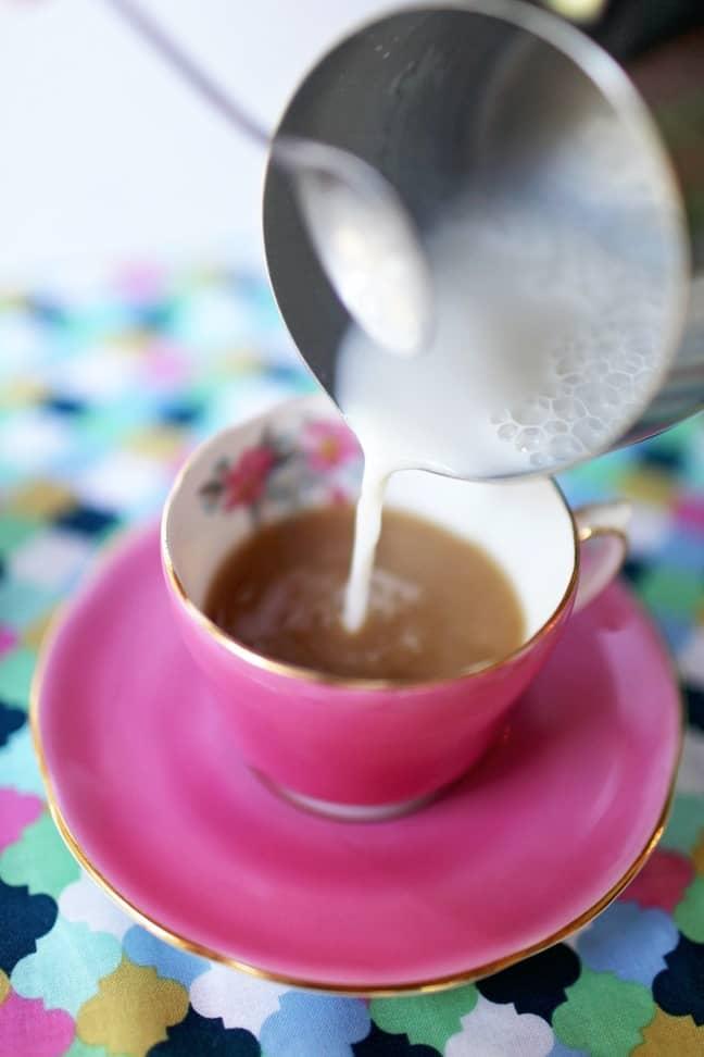 What tea should look like. Credit: Pexels/Leah Kelley