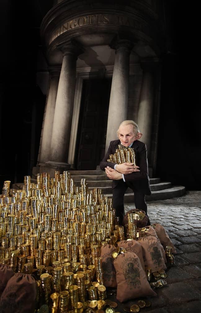 You'll also be able to visit the Lestrange vault. Credit: Warner Bros. Studio Tour London