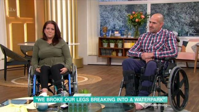 They have threatened legal action. Credit: ITV/This Morning