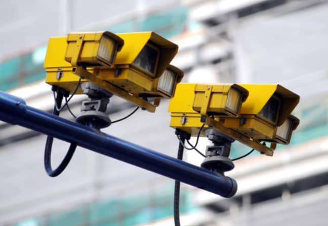 London Speed Camera. Credit: PA