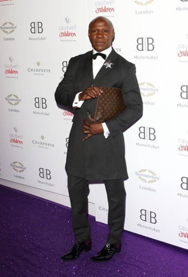 Chris Eubank Snr at the Caudwell Children Butterfly Ball. Credit: PA