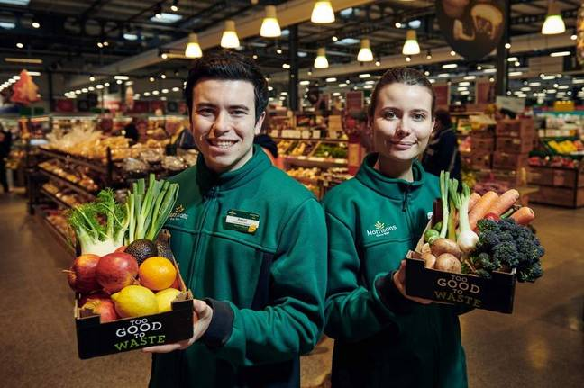 Morrisons is selling boxes of fruit and veg for £1. Credit: Morrisons