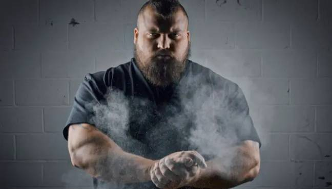 The Beast became World's Strongest Man in 2017. Credit: Facebook