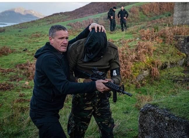 Mark on SAS: Who Dares Wins. Credit: Channel 4
