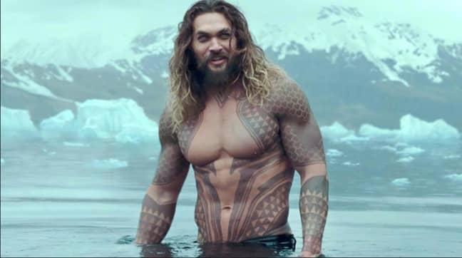 Jason Momoa As Aquaman Credit: DC Films