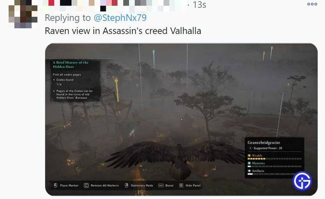 People were comparing it to Assassin's Creed. Credit: Twitter