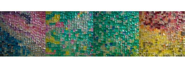 Drug baggie collage