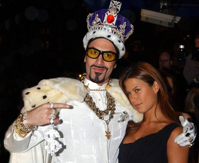 Ali G shot to fame in the late 90s. Credit: PA