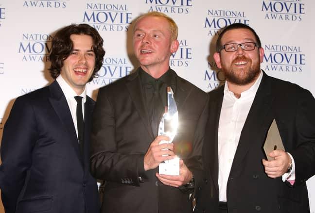 The three after winning an award at the 2007 National Movie Awards. Credit: PA