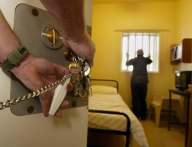 File image of a prison cell. Credit: PA