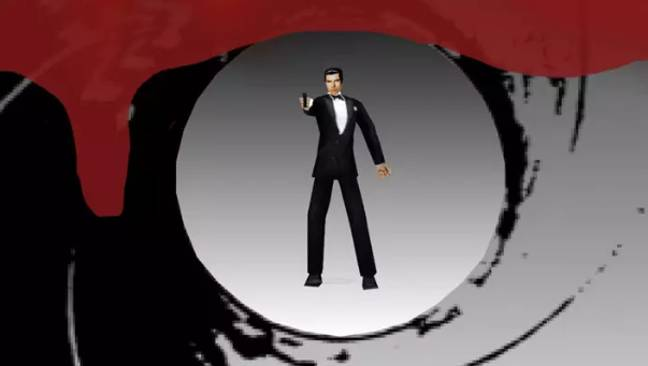 Rare's GoldenEye 007 was a landmark in the first-person shooter genre. Credit: Rare