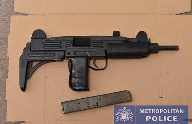 Police have seized firearms as part of the wider operation. Credit: Metropolitan Police