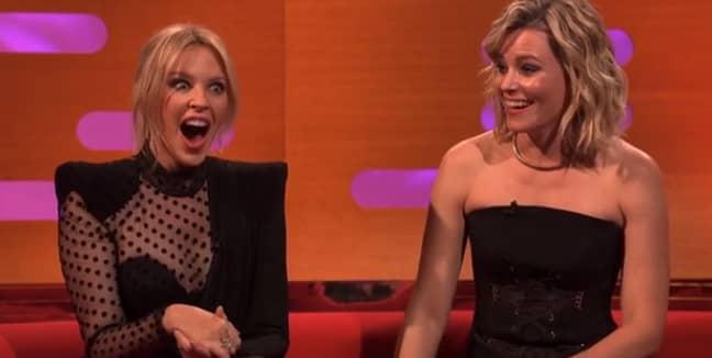 She left Kylie speechless. Credit: BBC
