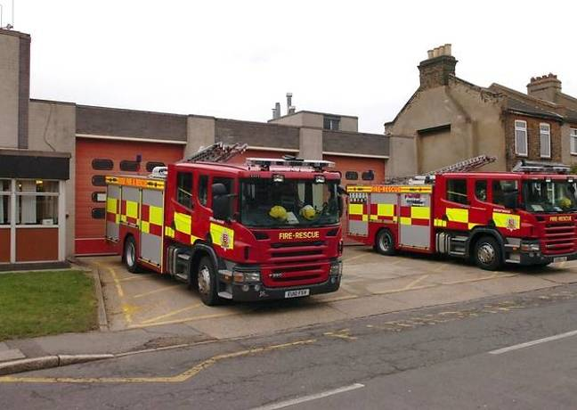 Essex County Fire and Rescue Service appliances. (stock) Credit: ECFRS