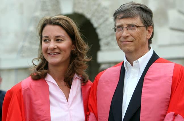 Bill and Melinda Gates. Credit: PA