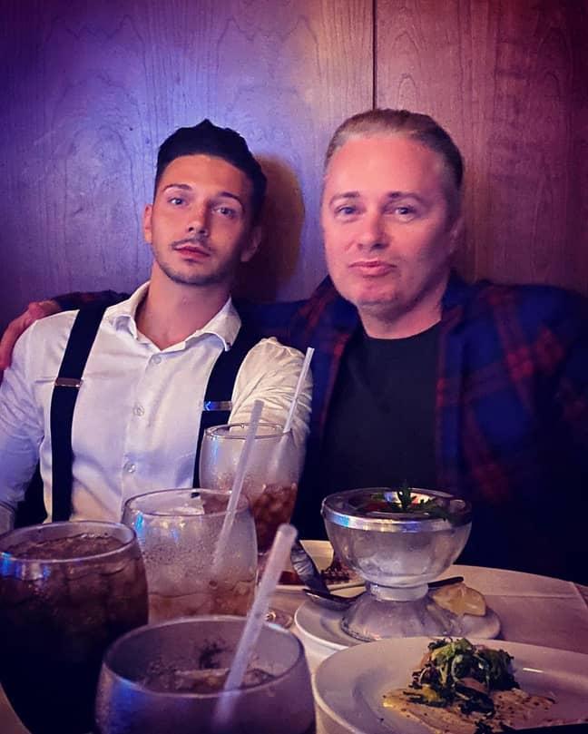 Barrie with Scott. Credit: Instagram/donbarrie