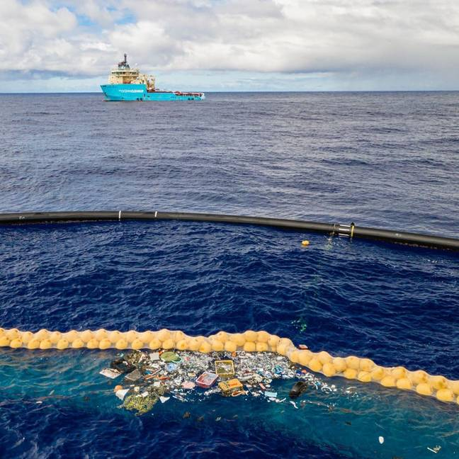 Credit: The Ocean Cleanup