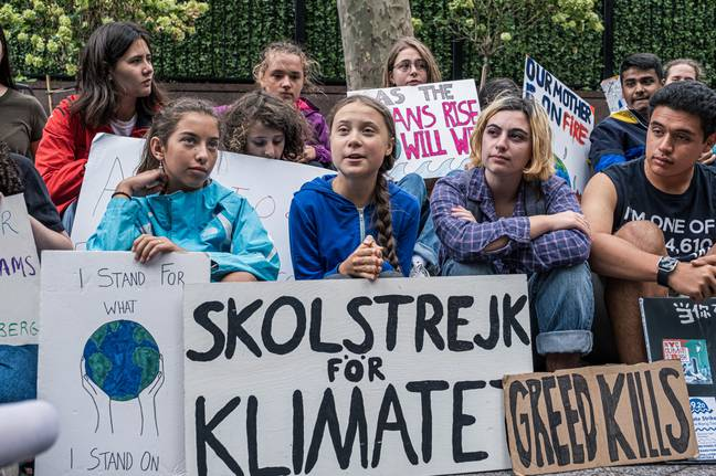 Thunberg has been praised for her stand against climate change which began with strikes outside the Swedish Parliament last year. Credit: PA