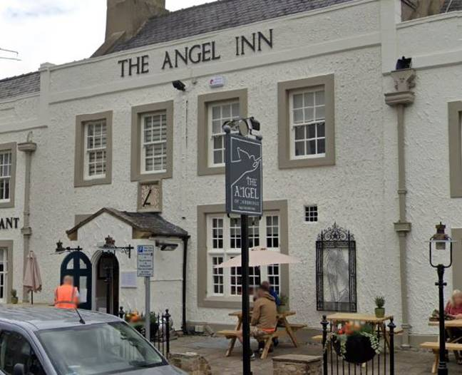 The pub refused David Walters service because he didn't own a smartphone. Credit: The Angel Inn
