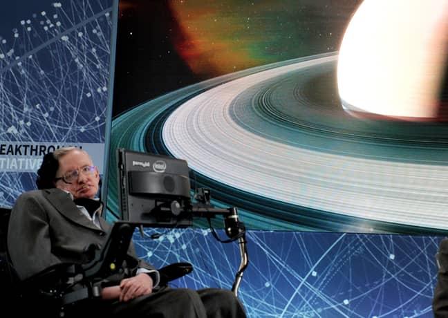Hawking in 2016. Credit: PA