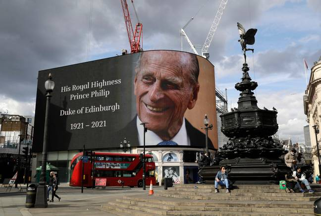 Prince Philip died at the age of 99. Credit: PA