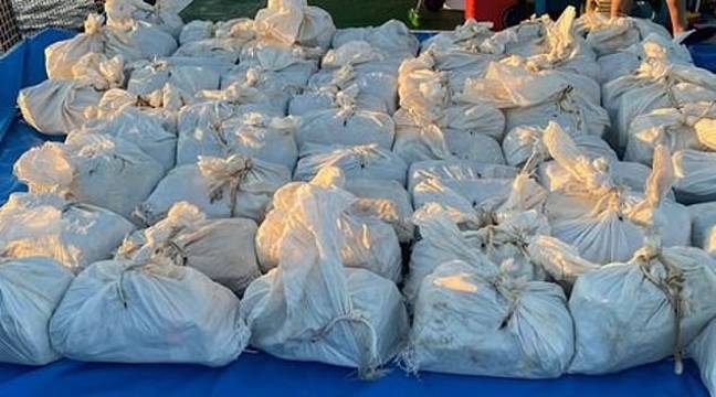 They believe the cocaine was headed for the UK. Credit: National Crime Agency
