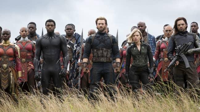 The Avengers set to take on Thanos. Credit: Marvel Studios