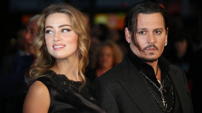 Amber Heard and Johnny Depp used to be married Credit: PA