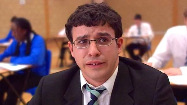 Will from The Inbetweeners perhaps became better known as Briefcase W***er. Credit: Channel 4