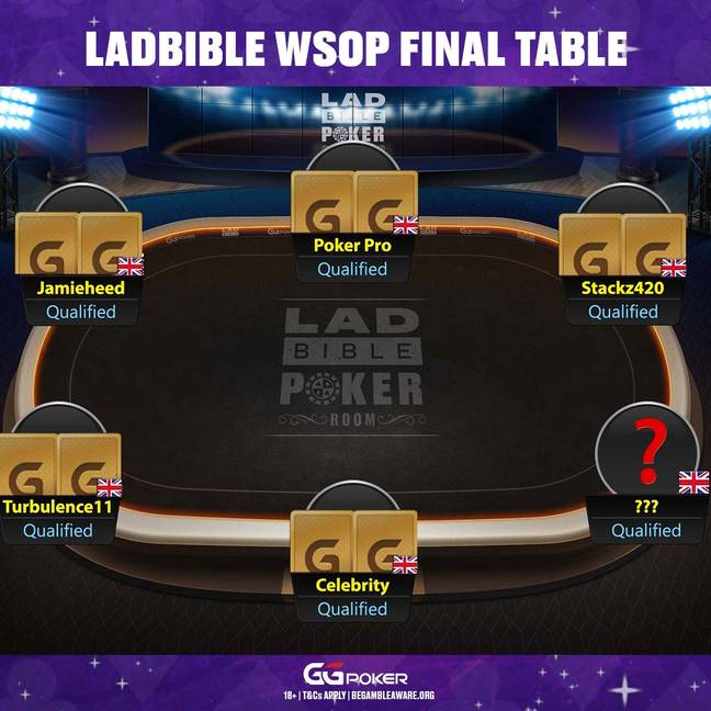 One Seat Left At The LADbible WSOP Final Table