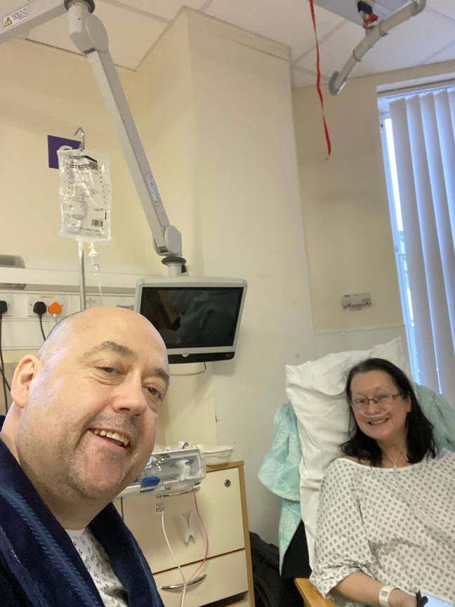 Post-operation Steve and Tracy. Credit: Storytrender