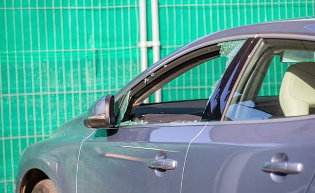Dr Watson had his window smashed in by vandals. Credit: Cascade/Dundee Courier