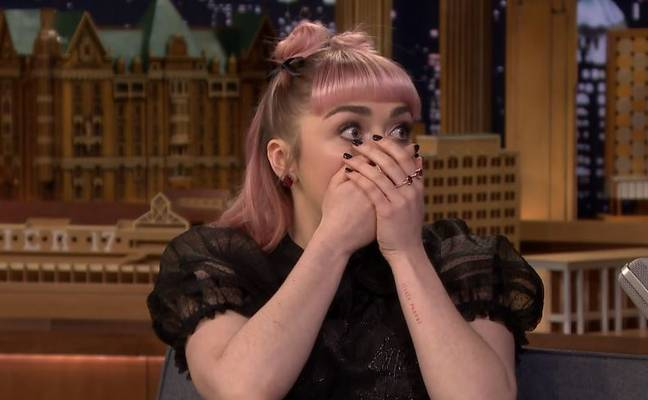 The moment she dropped the clanger. Credit: The Tonight Show Starring Jimmy Fallon/NBC
