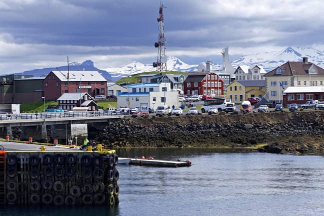 Port of Reykjavik, Iceland. Credit: PA