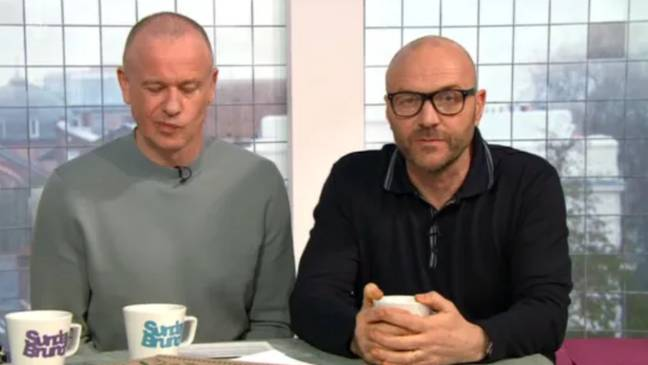 Simon Rimmer said sorry live on air. Credit: Channel 4