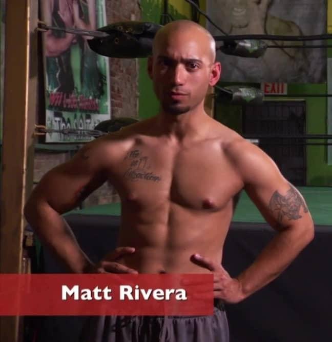 Matt is a wannabe wrestler. Credit: TLC
