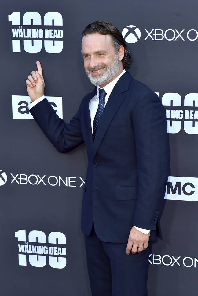 Andrew Lincoln. Credit: PA