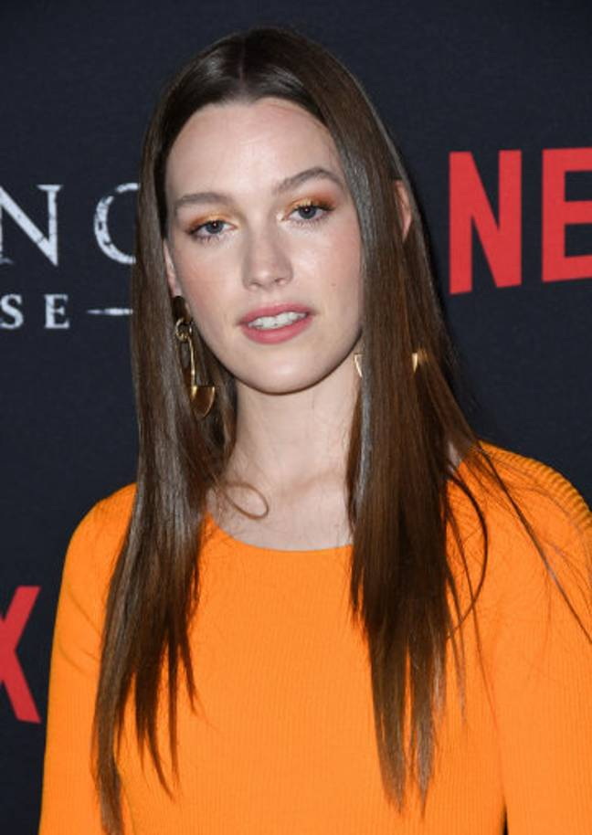 Victoria Pedretti played Eleanor 'Nell' Crain' in The Haunting of Hill House. Credit: PA