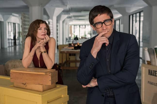 Gyllenhaal stars alongside John Malkovich, and Rene Russo. Credit: Netflix