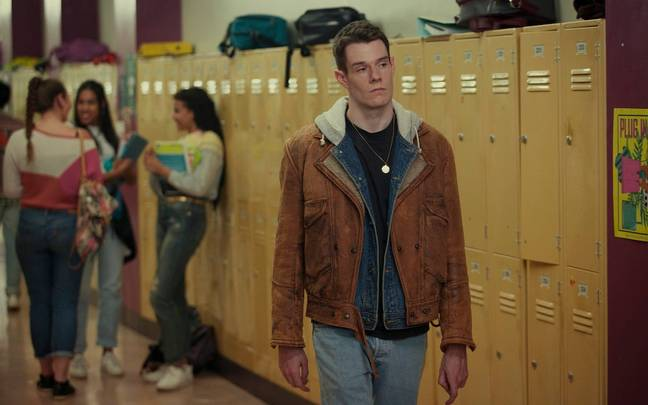 Connor Swindells as Adam Groff. Credit: Netflix