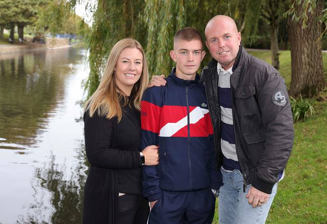 George's family are 'extremely proud' of his selfless act. Credit: Jam Press