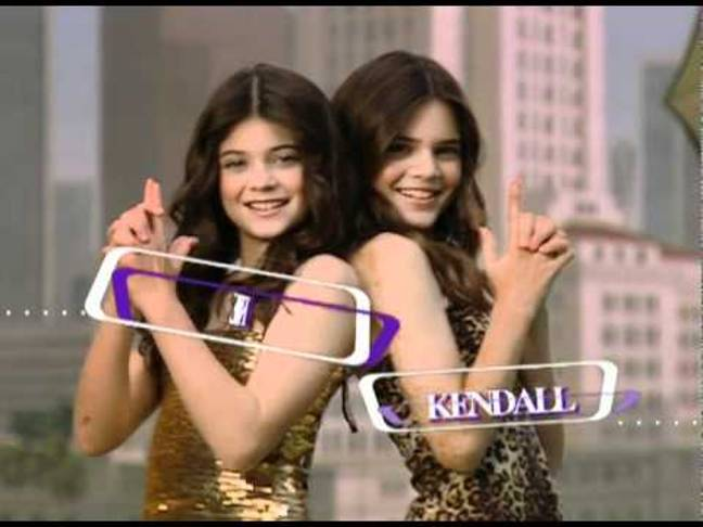 Kylie and Kendall way before they grew into the adults they are now. Credit: E!